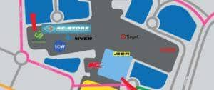 map of store