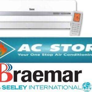 Braemar 2.5kw split system bshv