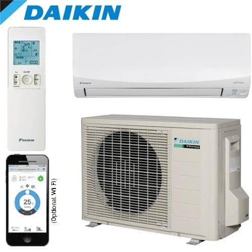 daikin 7 1kw cora series reverse cycle inverter r32 gas acstore