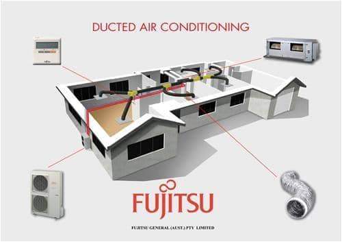 Fujitsu 9kw Ducted Air Conditioner Ac Store