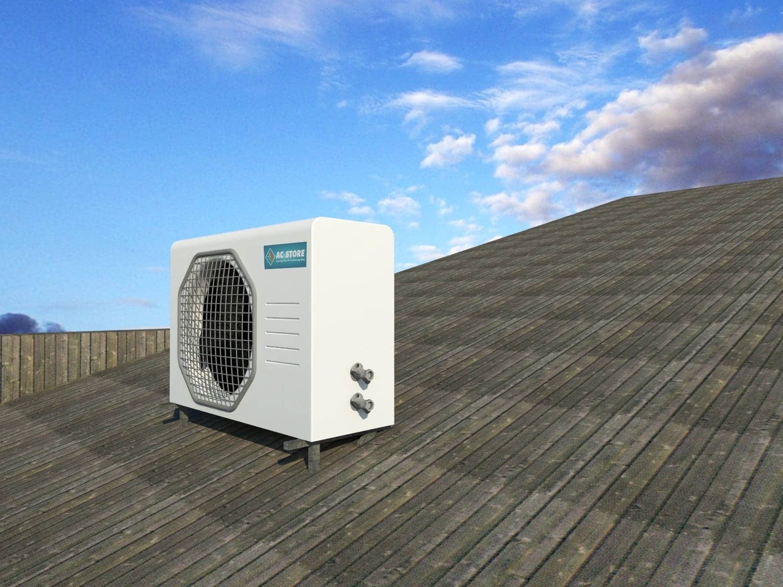 Install 7 5kw 9 4kw Back To Back Ac Store