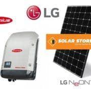 LG fronius package solar logo