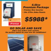 Solar package fronius 36